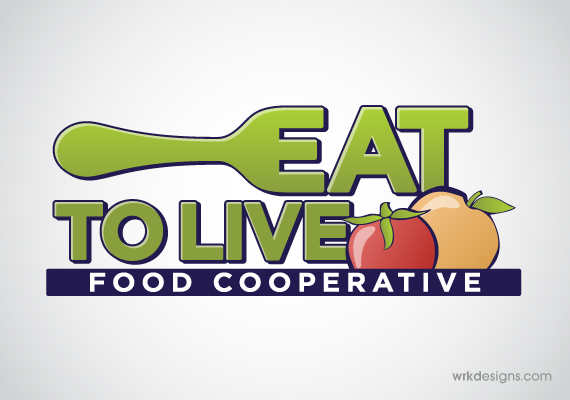Eat To Live Logo Design - WRKDesigns