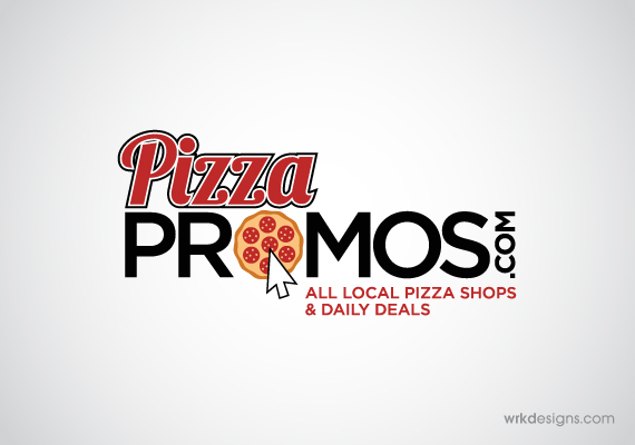 Pizza Promos Logo Design - WRKDesigns