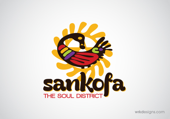 Sankofa Logo Design - WRKDesigns