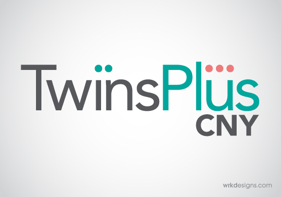 Twins Plus Logo Design - WRKDesigns
