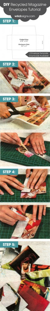 DIY Envelope Tutorial - WRKDesigns