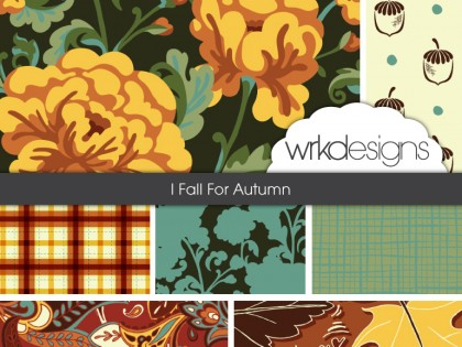 Surface Pattern Design Collection: I Fall For Autumn