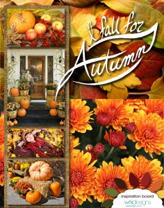 I Fall For Autumn Mood Board - WRKDesigns