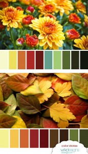 I Fall for Autumn Color Boards - WRKDesigns