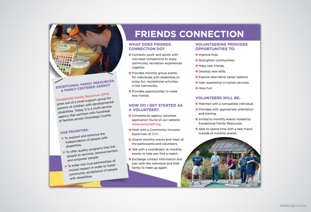 Brochure Design: EFR Back