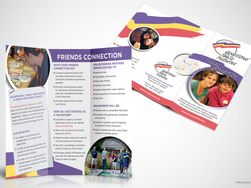 Brochure: Exceptional Family Resources