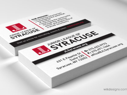 Marketing Materials: Junior League Syracuse